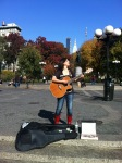 Busking in Union Square 11-8-11